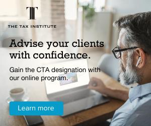Study CTA at The Tax Institute