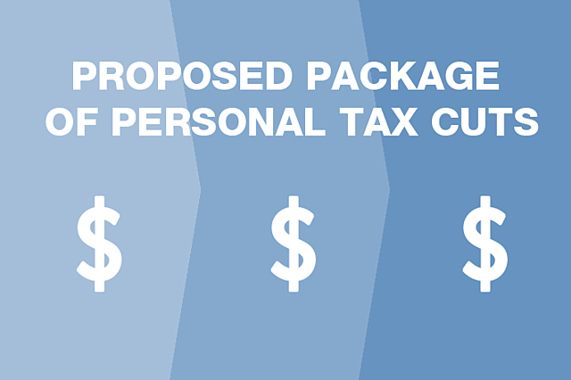 Infographic: Coalition's proposed package of personal tax cuts