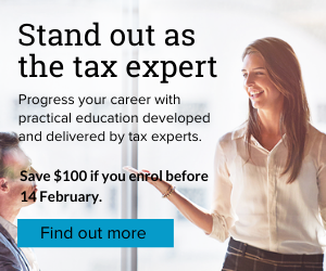 Stand out as a tax leader