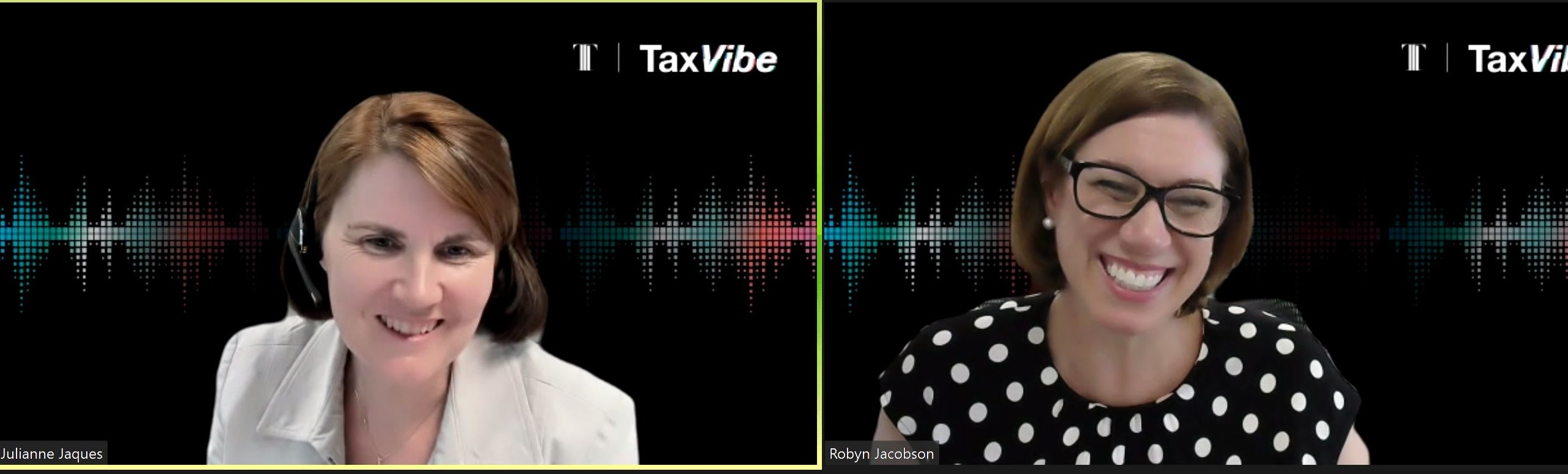 Julianne Jaques and Robyn Jacobson - TaxVibe