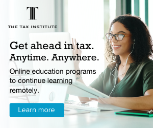 Get ahead in tax. Anytime. Anywhere with our online education programs.