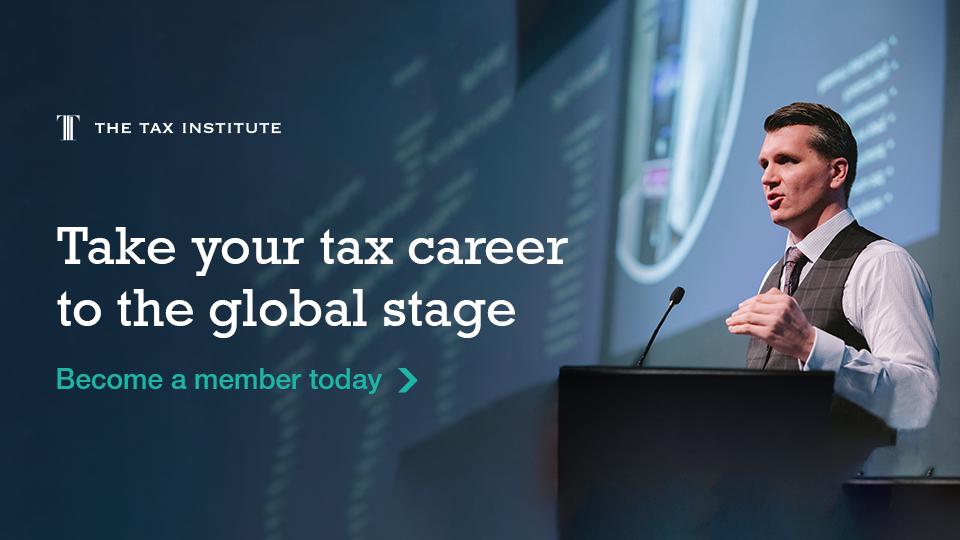 Become a Tax Institute member