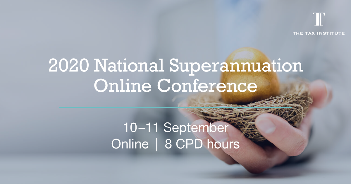 2020 National Superannuation Conference